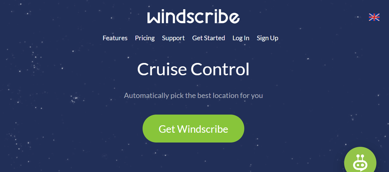 Windscribe cruise control