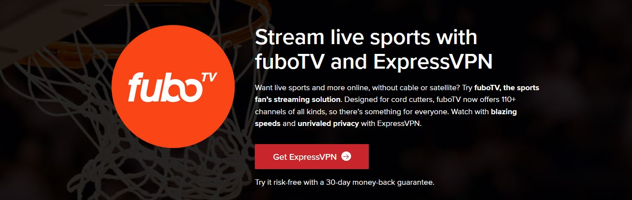 how to watch FuboTV with ExpressVPN