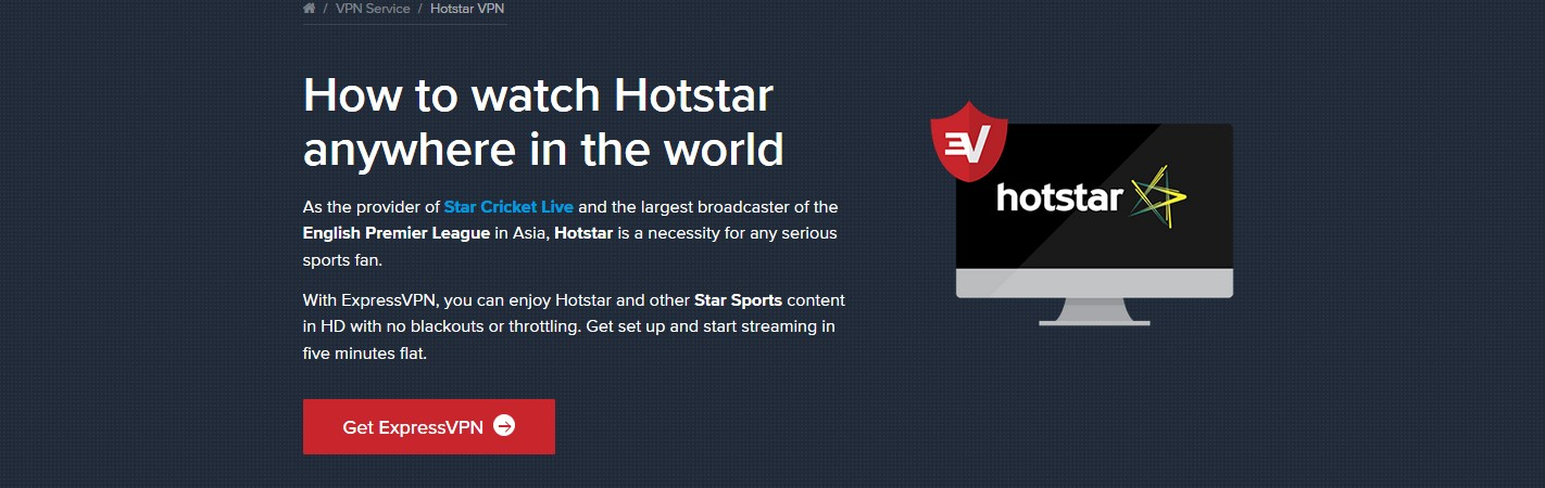 how to watch Hotstar outside of India
