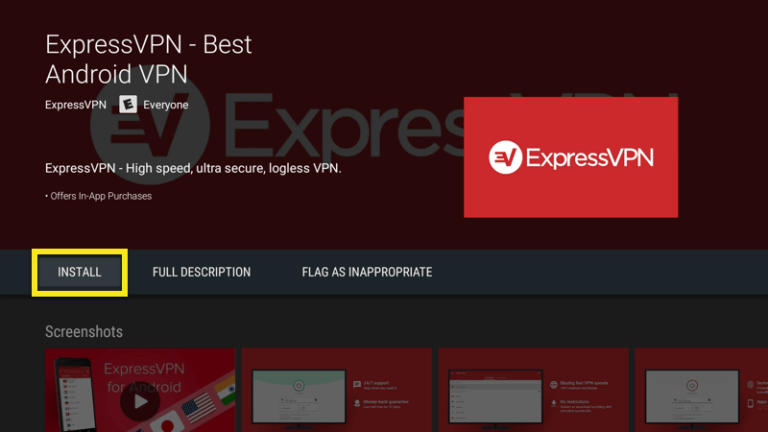 install ExpressVPN on Fire Stick