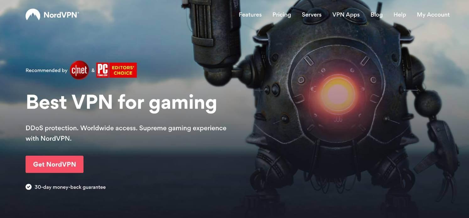 Get NordVPN for gaming