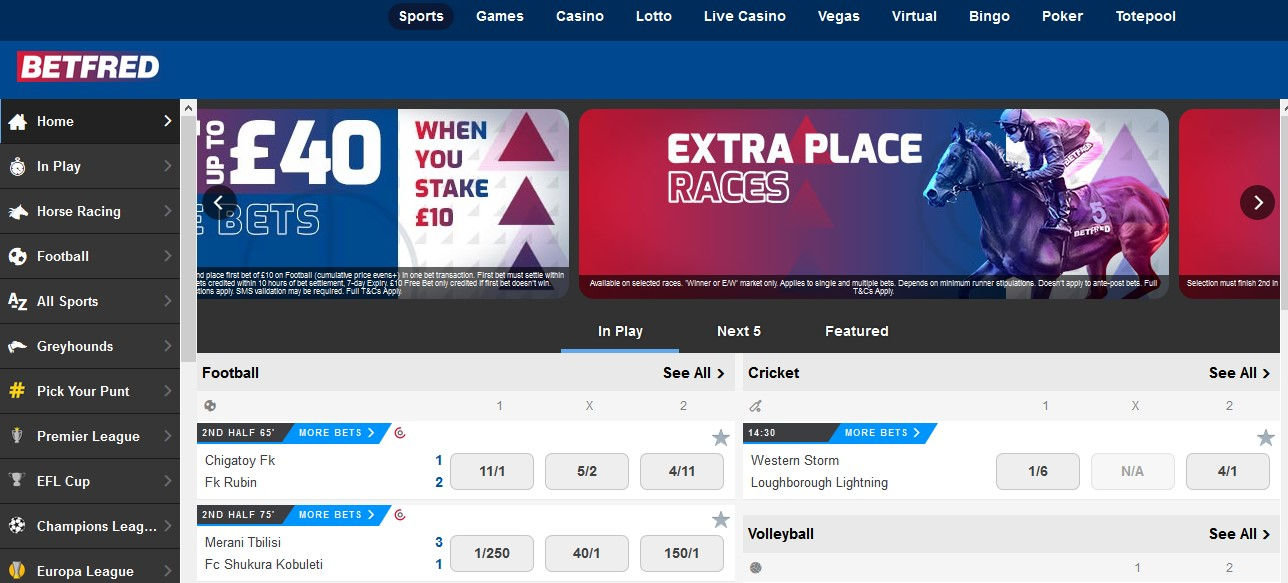 unblock Betfred online with a VPN