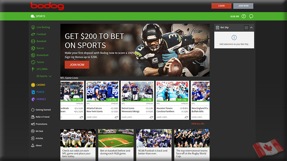use Bodog bookmakers online with a VPN