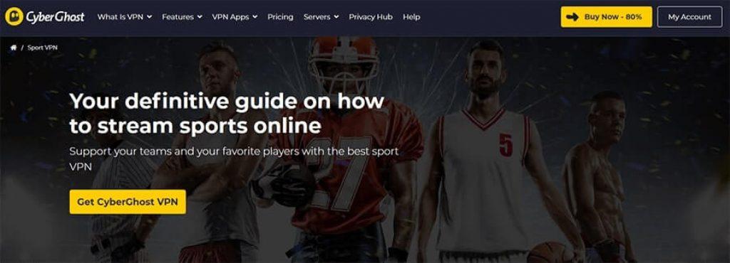 CyberGhost Sport
