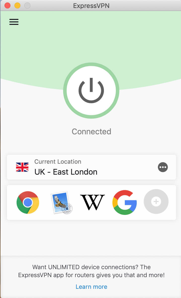 ExpressVPN in the UK