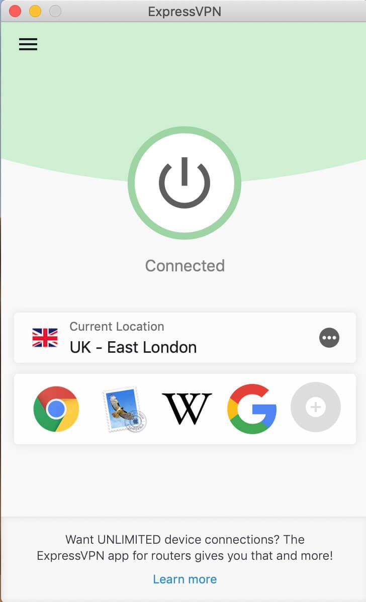 ExpressVPN in the UK