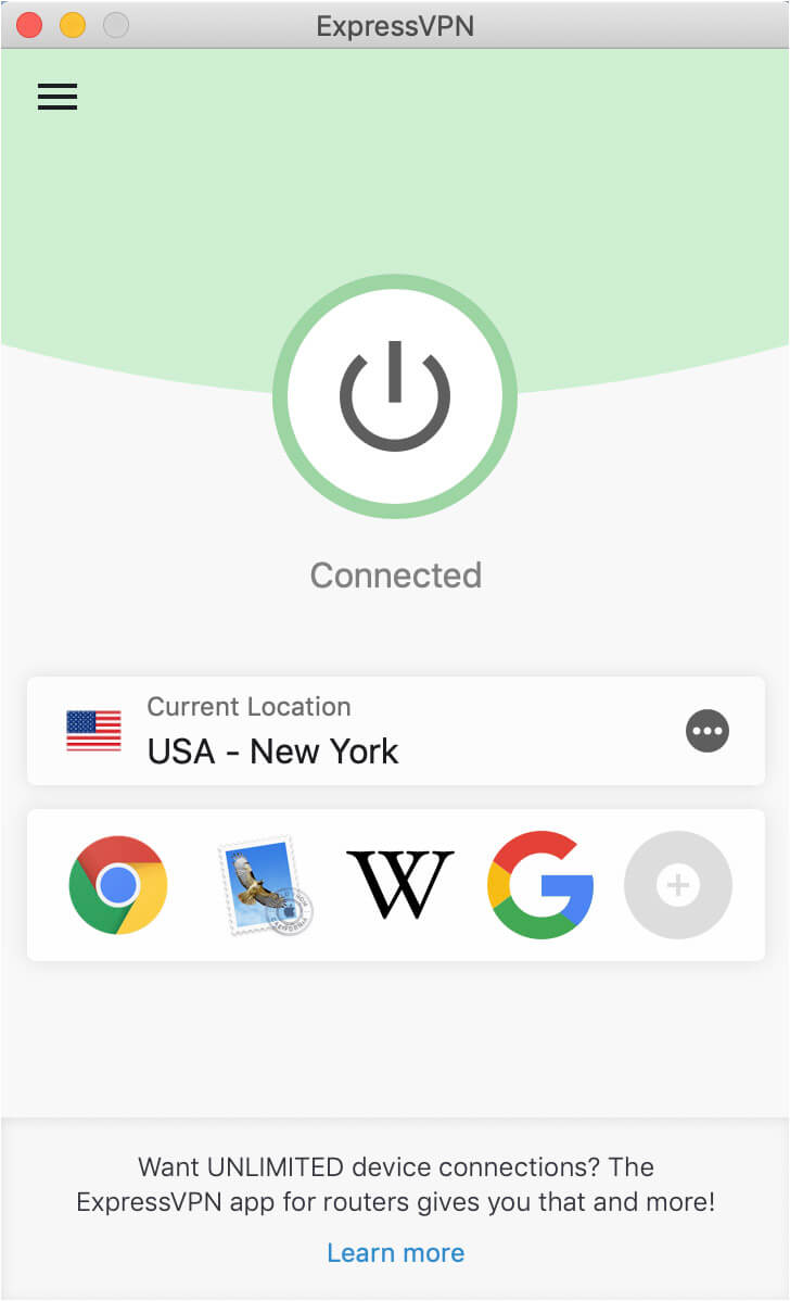 ExpressVPN in the USA