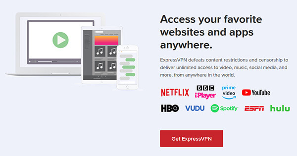 Geo-restriction-ExpressVPN