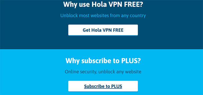 Hola VPN free or paid