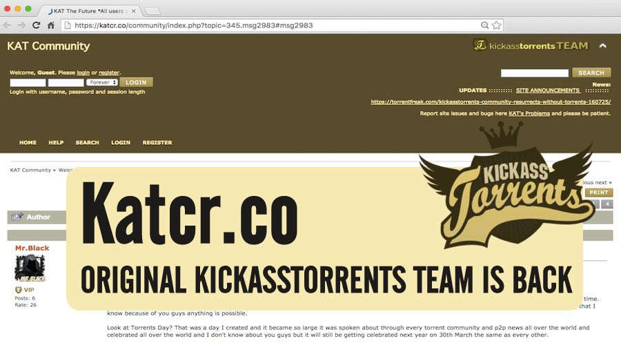 Katcr Torrent website