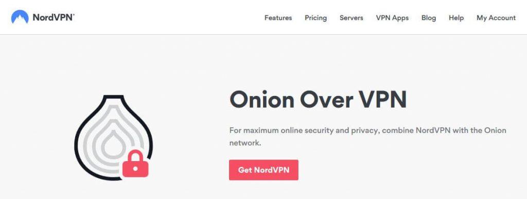 NordVPN Onion over VPN