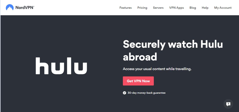 NordVPN for Hulu