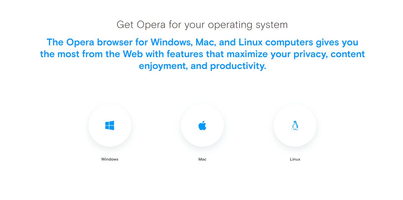 Opera device compatibility