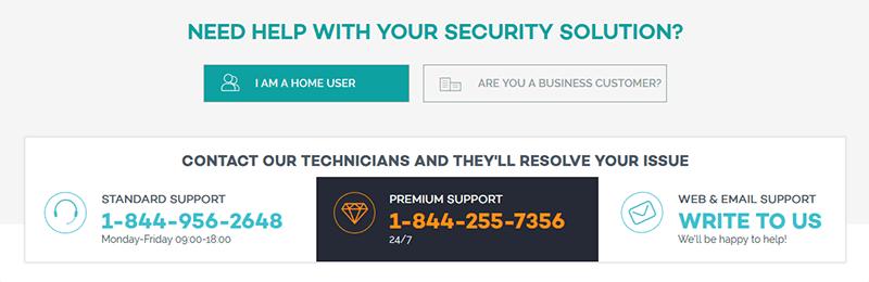 Panda VPN support