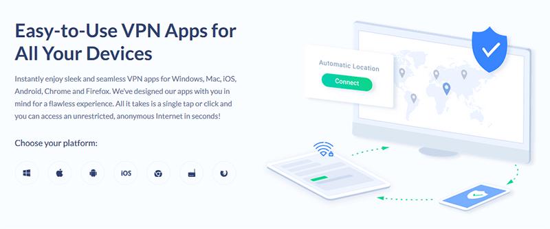 SaferVPN Apps