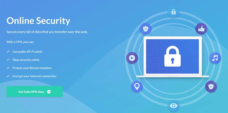 SaferVPN Online Security