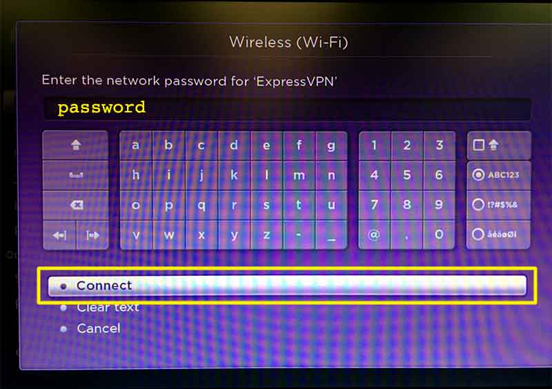 Setting up VPN on router