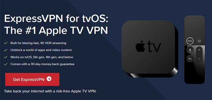 ExpressVPN Apple TV