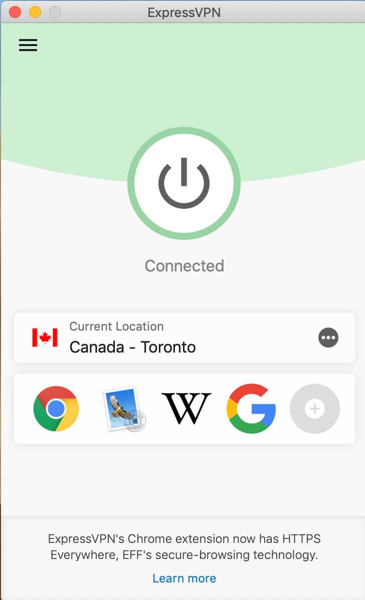 ExpressVPN in Canada