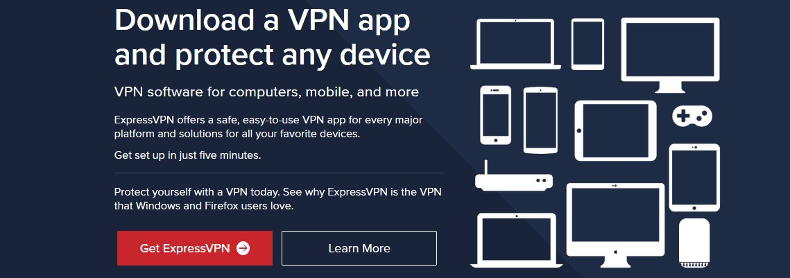 ExpressVPN range of devices