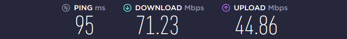 Goose VPN Speed US