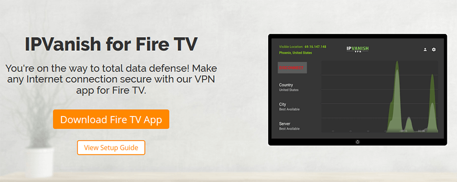 IPVanish Fire TV
