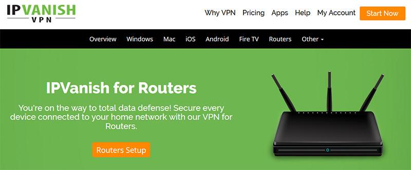 IPVanish router
