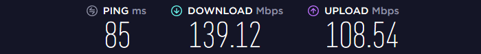 NordVPN Speed US