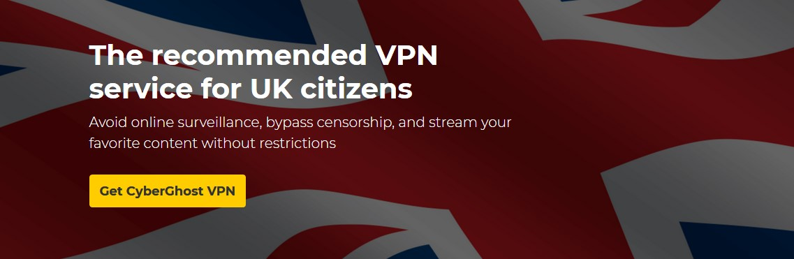 Unblock UK TV with CyberGhost