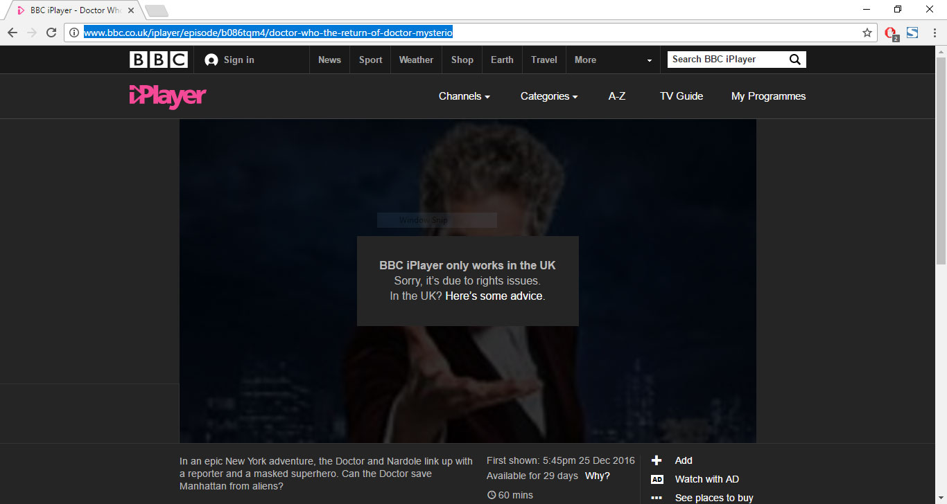 Watch BBC iPlayer outside of the UK