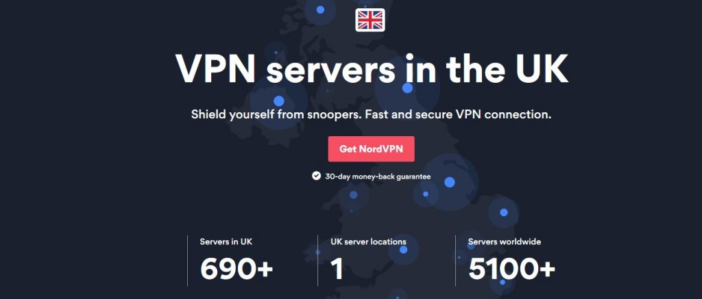 unblock UK TV in the USA with NordVPN