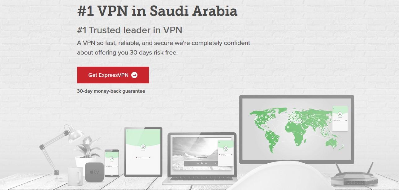 use ExpressVPN in Saudi Arabia