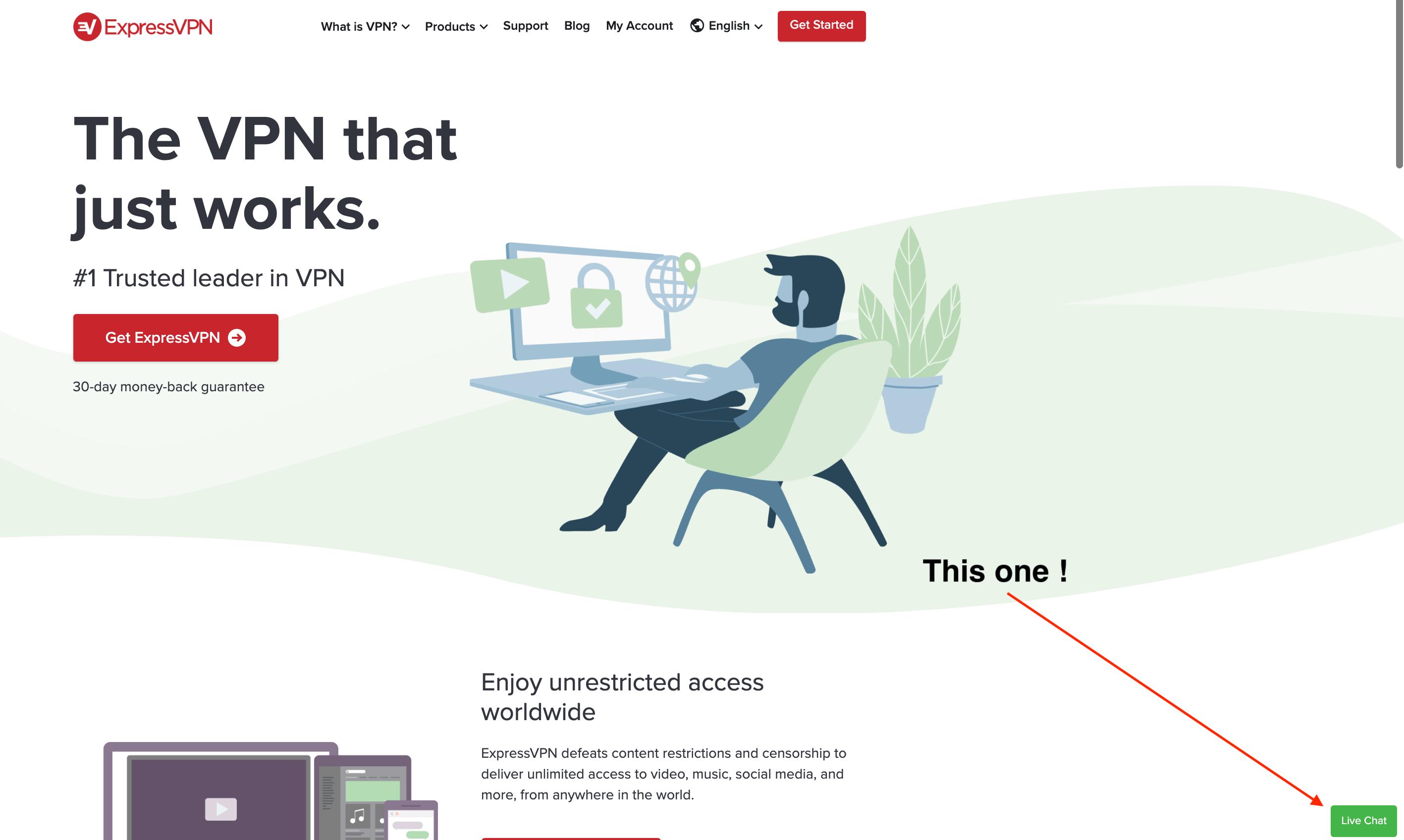 ExpressVPN refund