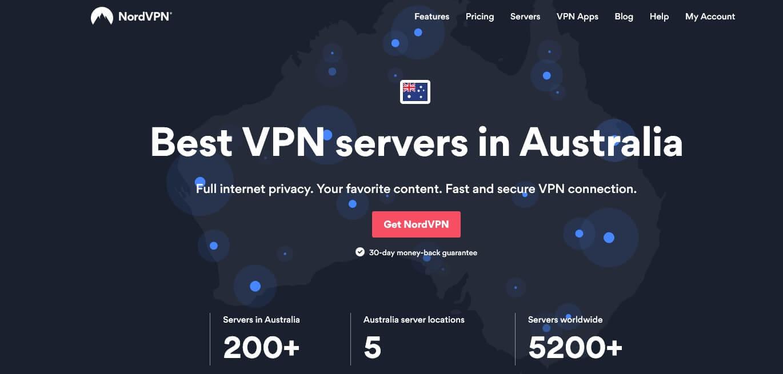 NordVPN Australia servers