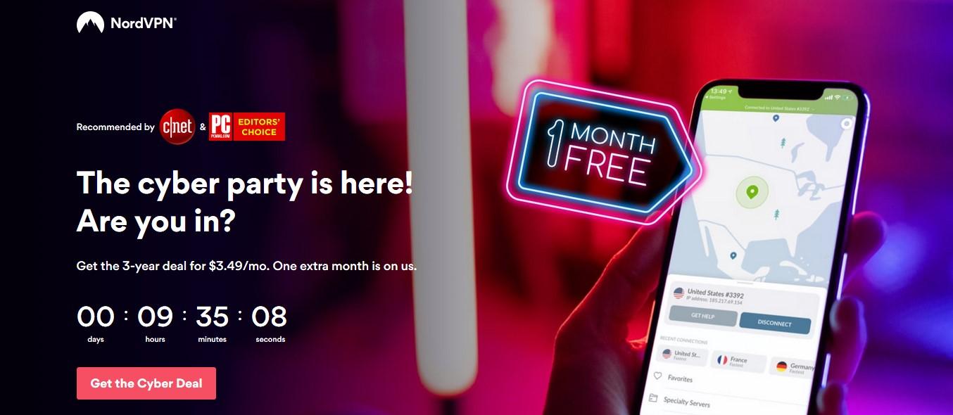 NordVPN Black Friday offer