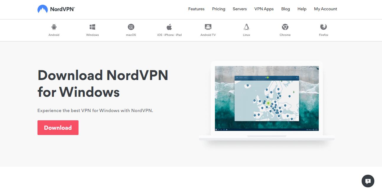 NordVPN apps