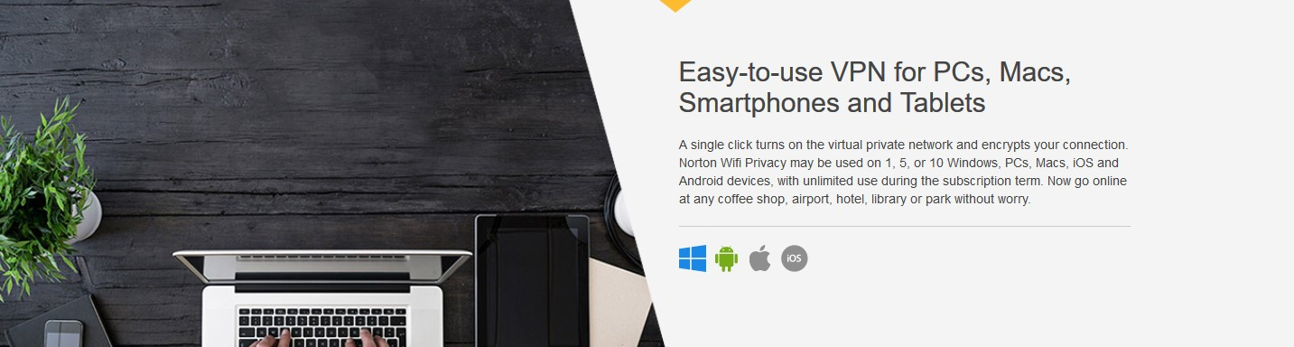 Norton Secure VPN devices