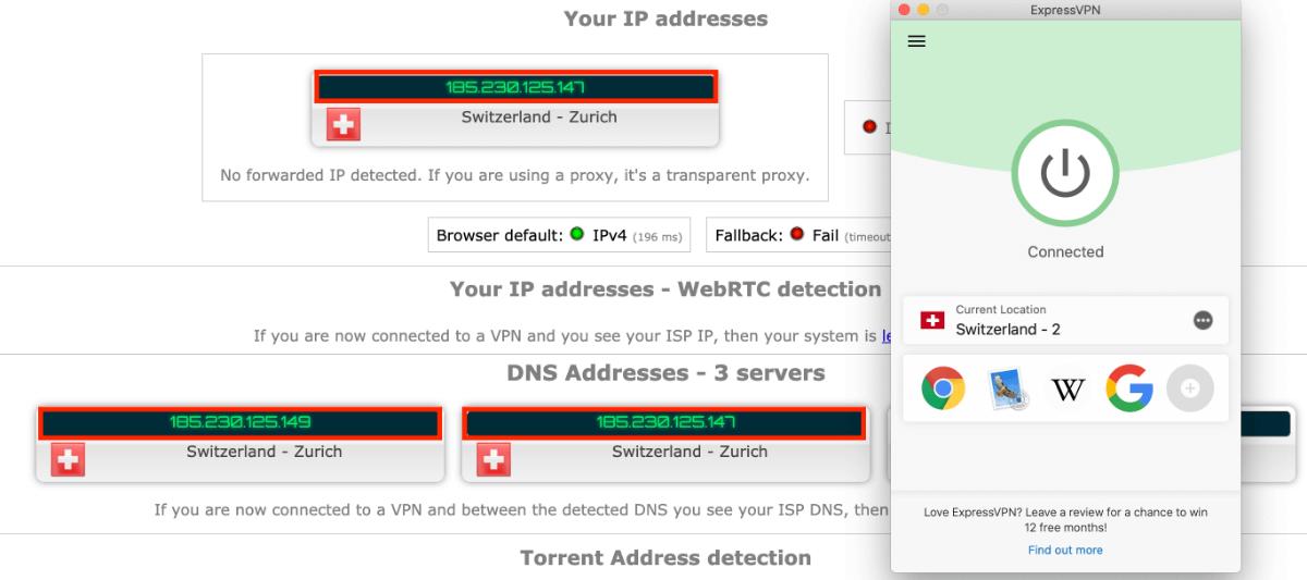 VPN is working