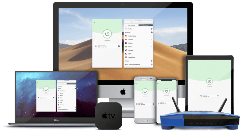devices ExpressVPN