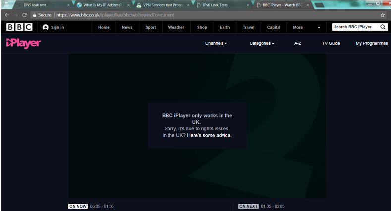 iplayer streaming