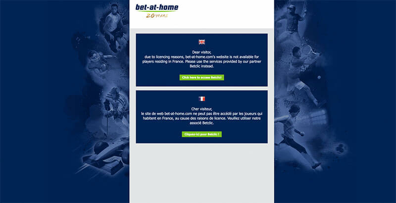Block of Bet-At-Home abroad