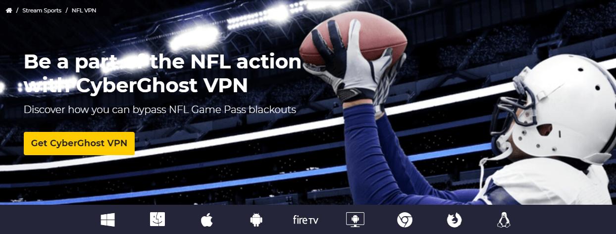 CyberGhost NFL