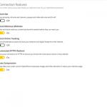 CyberGhost application settings