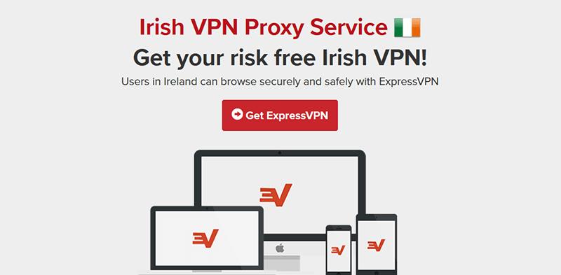 ExpressVPN in Ireland