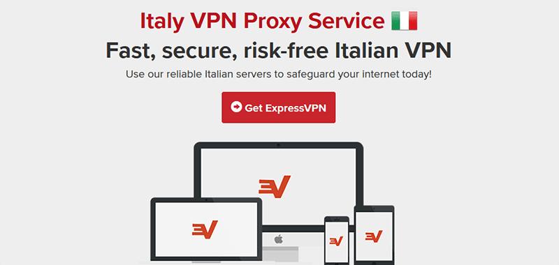 ExpressVPN in Italy