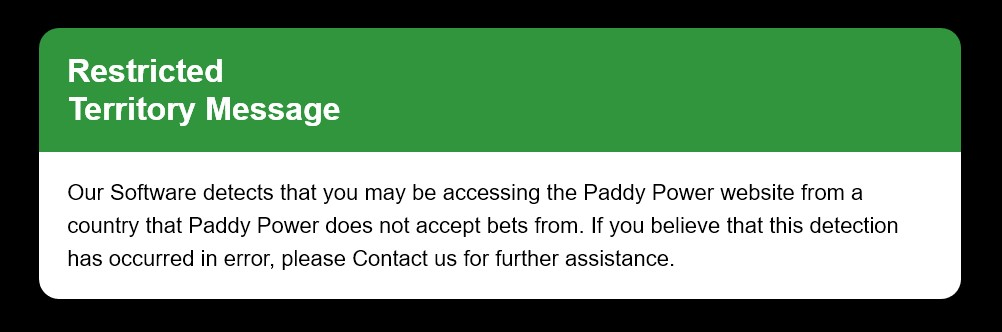 unblock Paddy Power