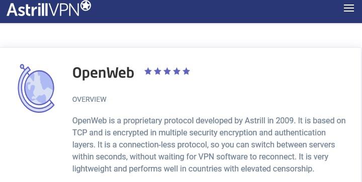Astrill OpenWeb