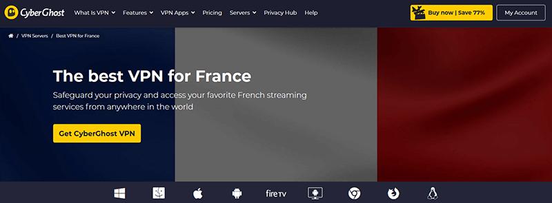 CyberGhost VPN France