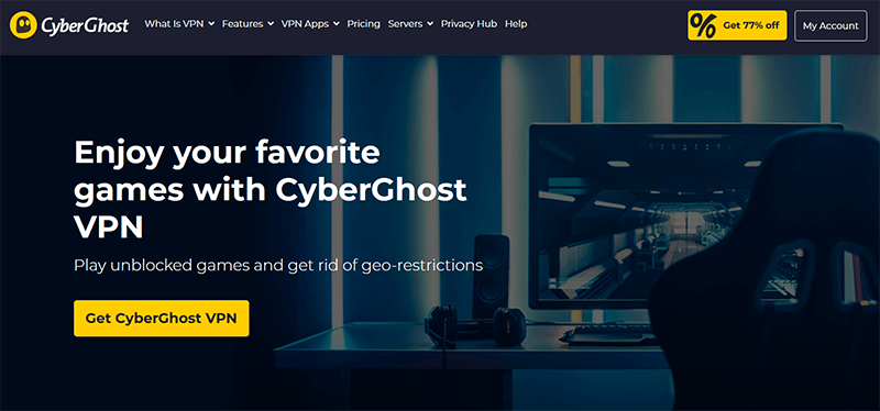 CyberGhost gaming