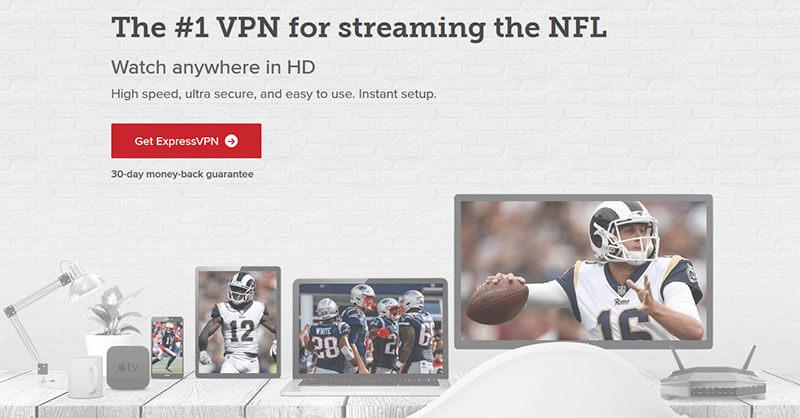 ExpressVPN NFL
